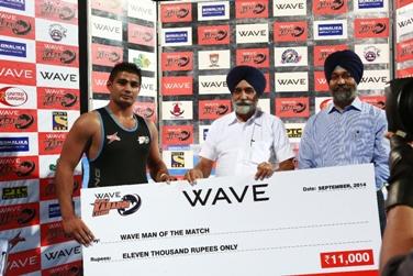 Sultan Singh - Man of the match - Punjab Thunder