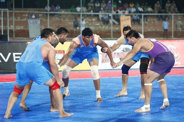 California Eagles register first win of Wave World Kabaddi League