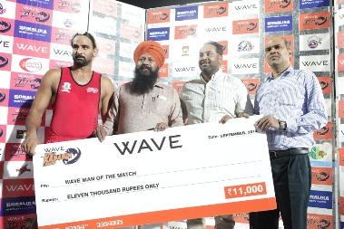 Man of the match_Manjot Singh of Khalsa Warriors