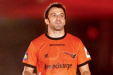 Delhi Dynamos FC skipper Allessandro Del Piero