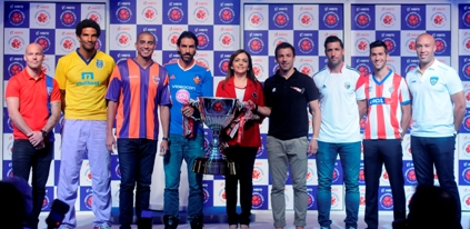 Hero Indian Super League unveils the Pride of Indian Football