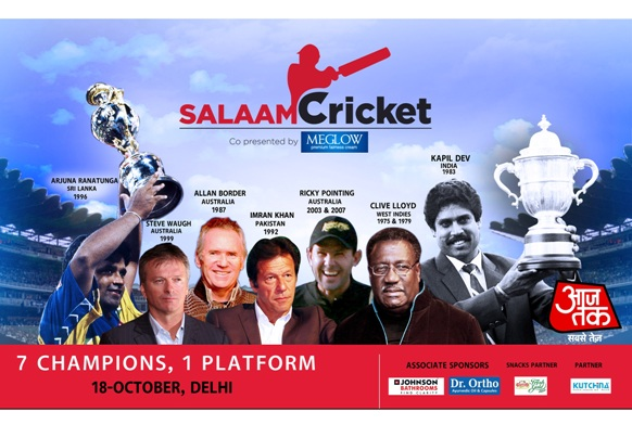India's No. 1 News channel AajTak celebrates Cricket with the mega event – Salaam Cricket