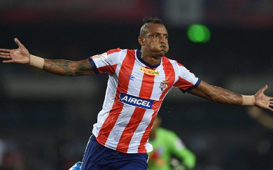 Fikru Teferra Lemessa of Atlético de Kolkata