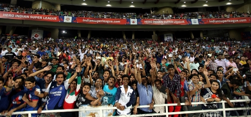 Hero ISL hits 1 million instadia fans; competition now 4th best league in the world by average attendance