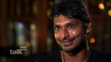 Sri Lankan cricket star Kumar Sangakkara on CNN's Talk Asia
