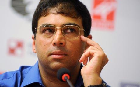 Viswanathan Anand beat World Champion Magnus Carlsen