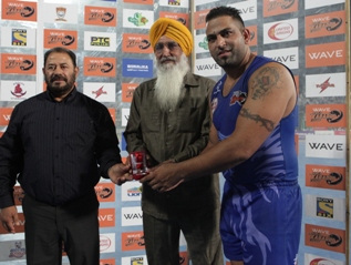 Best stopper - Sandeep Singh Sandhu of United Singhs