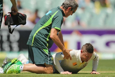 Mark Taylor is concerned about Michael Clarke's injury