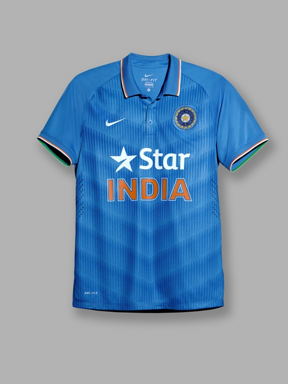 Team India unveils Nike's new kit for ODIs