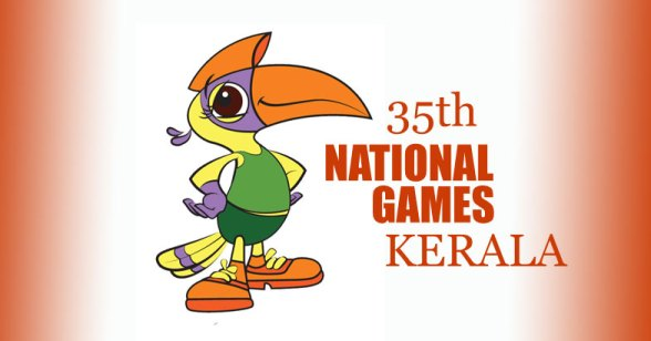 Great Indian Hornbill - Official Mascot of the 2015 National Games of India