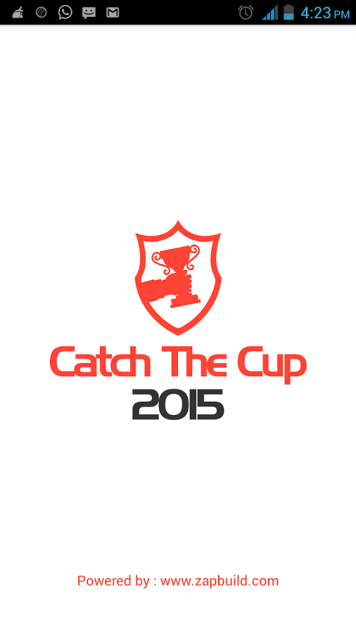 Catch The Cup 2015