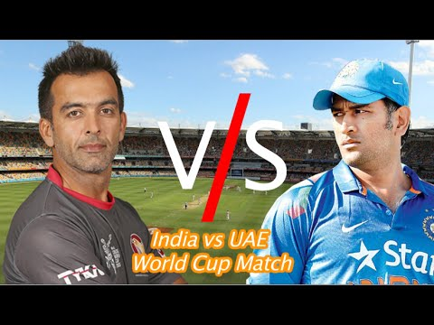 India vs United Arab Emirates - W.A.C.A. Ground, Perth, ICC Cricket World Cup 2015