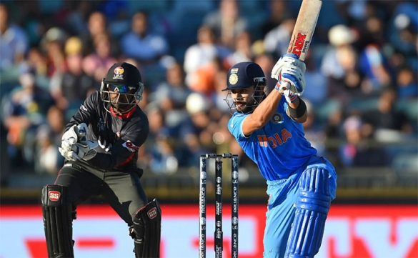Cricket World Cup: India beat UAE by 9 wickets, Rohit Sharma top scoring with an unbeaten 57