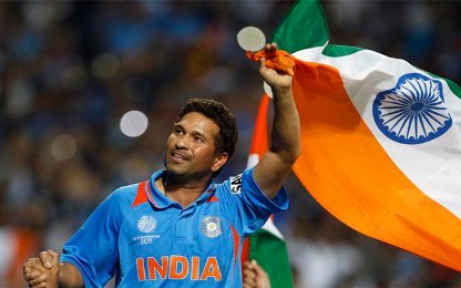 Sachin Tendulkar leads Viv Richards' Top ODI Batsmen List