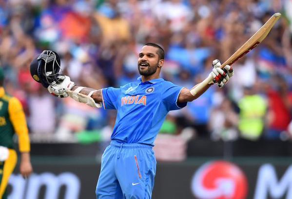 Shikhar Dhawan's ton helps India break World Cup jinx
