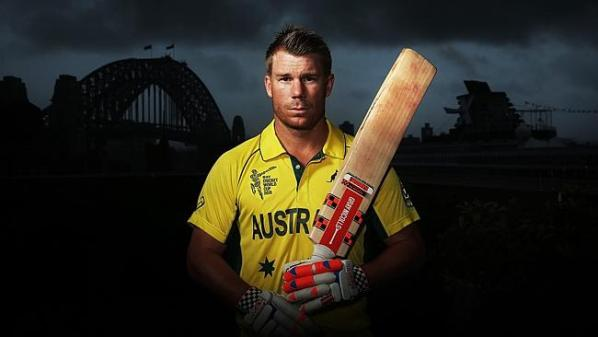 David Warner silences Afghanistan