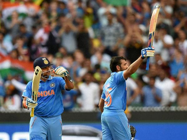 World Cup 2015: Rohit Sharma ton helps India crush Bangladesh
