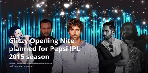 IPL 2015 Opening Ceremony in Kolkata