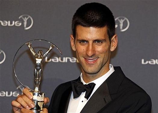 Novak Djokovic wins Laureus Sportsman of the Year