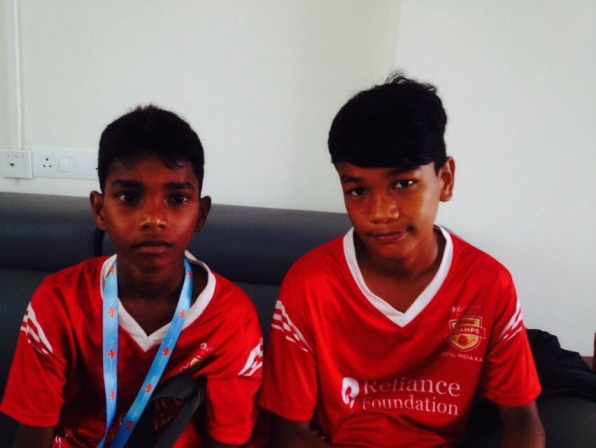 Chennaiyin FC grassroots program – G Balaji and H Gulab