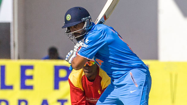 India opener Murali Vijay guided India to 271/8 against Zimbabwe in the second ODI