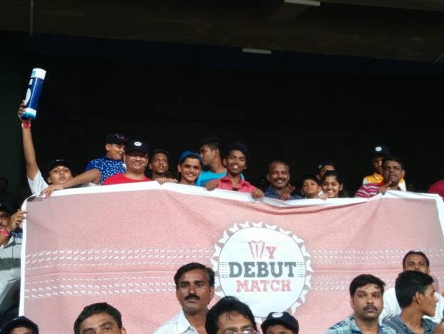 100 Mumbai kids made their 'debut' at Wankhede during 5th India- SA ODI as a part of the initiative