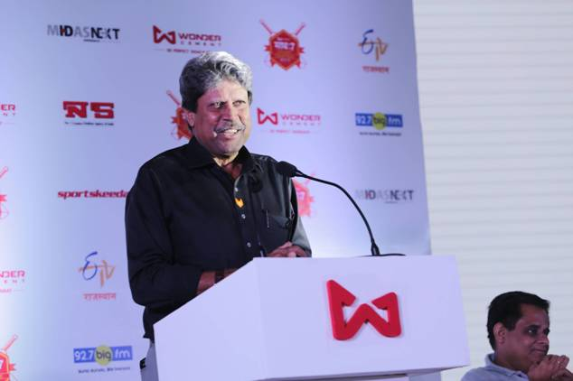 Mr. Kapil Dev at Wonder Cement Cricket Mahotsav Saath 7