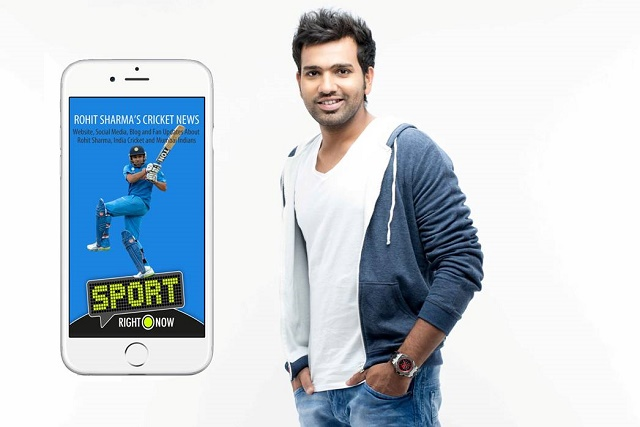 UK's RightNow Digital partners with Rohit Sharma to launch India's only aggregated cricket news & social media app