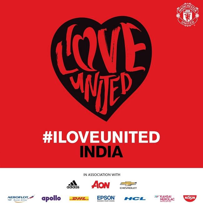 Manchester United's 'ILOVEUNITEDINDIA' comes to Mumbai