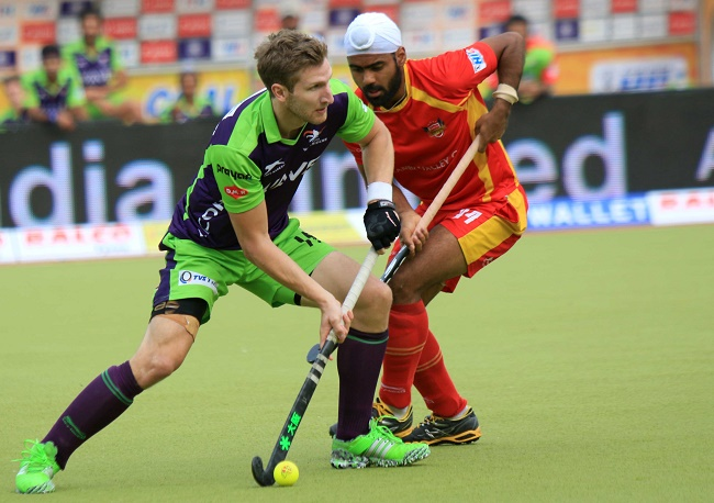 Delhi Waveriders finish third in the 4th Coal India Hockey India League