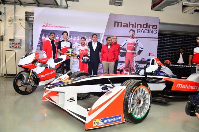 Mahindra Racing in action at the Buddh International Circuit