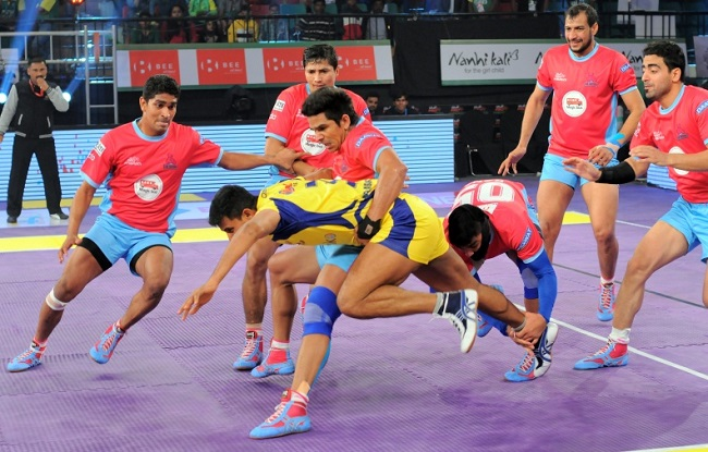 Rajesh Narwal had a great match