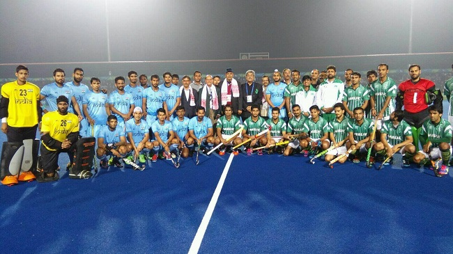India vs Pakistan at 12th South Asian Games Final