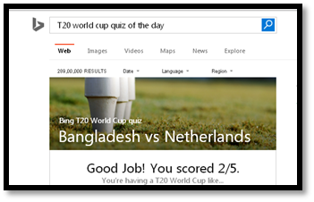 T20 World Cup quiz of the day
