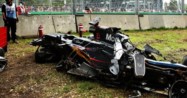 Would halo design have backfired in Fernando Alonso's crash?