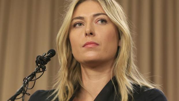 Maria Sharapova admits to failing drug test