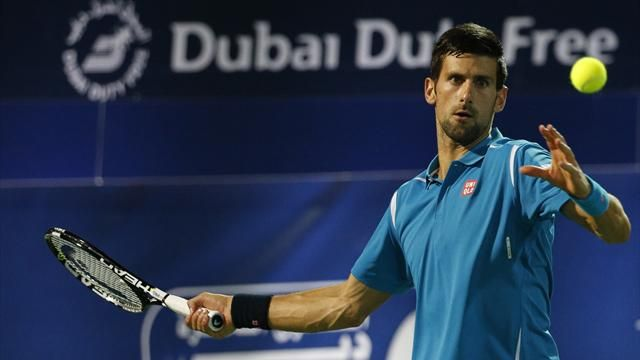 Novak Djokovic faces eye problem; retires from Dubai Open