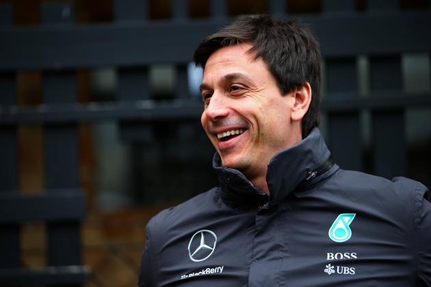 Mercedes motorsport boss Toto Wolff