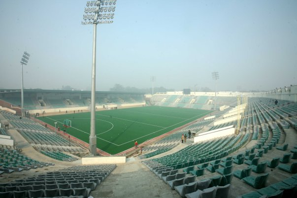 Dhyan Chand stadium at Lucknow