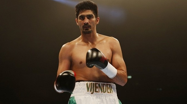 Vijender Singh dedicates his win to Indian Armed Forces