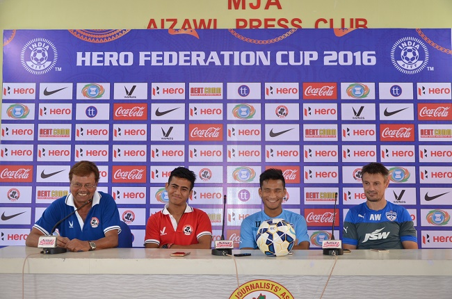 Aizawl FC take on Bengaluru FC in first match of Hero Federation Cup 2016