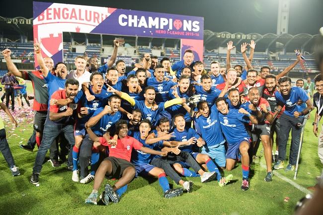 Bengaluru FC are the Hero I-League 2015-16 Champions