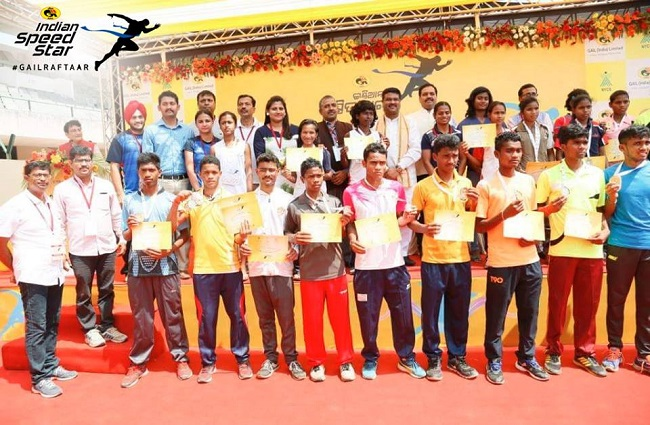 Gail - Indian Speed Star - An initiative to strengthen the sport of athletics