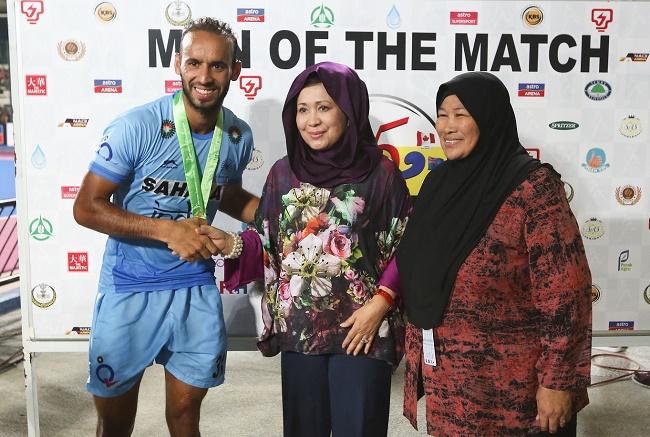 Ramandeep, Man of the match, India vs Malaysia, Sultan Azlan Shah Cup