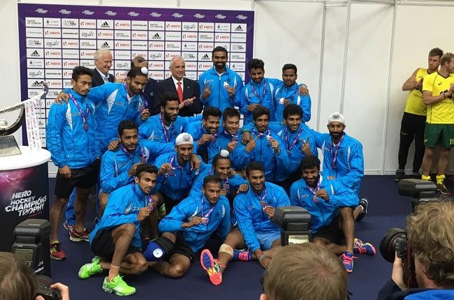 Indian Hockey team wins Silver Medal at Champions Trophy 2016