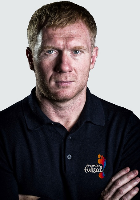 Paul Scholes signs as second marquee player for Premier Futsal