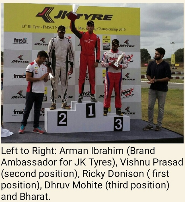 Ricky Donison continues to dominate the National Karting Championship