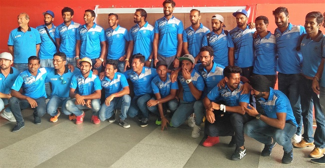 Indian Men's Hockey Team returns from 6 Nations
