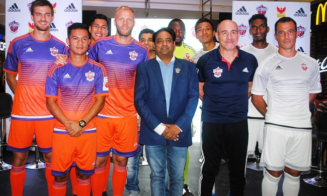 With new season, comes new look kit for FC Pune City