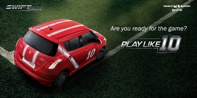 #PlayLike10 with Maruti Suzuki Swift Deca